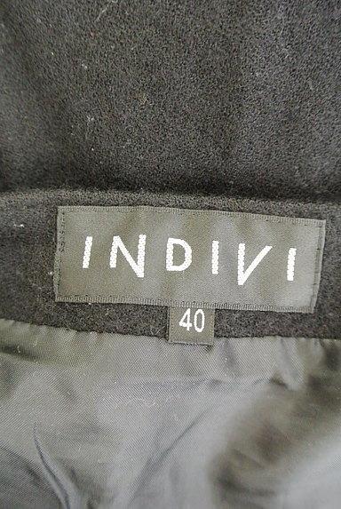 INDIVI(インディヴィ)の古着「ビット金具フレアミニスカート(ミニスカート)」大画像6へ