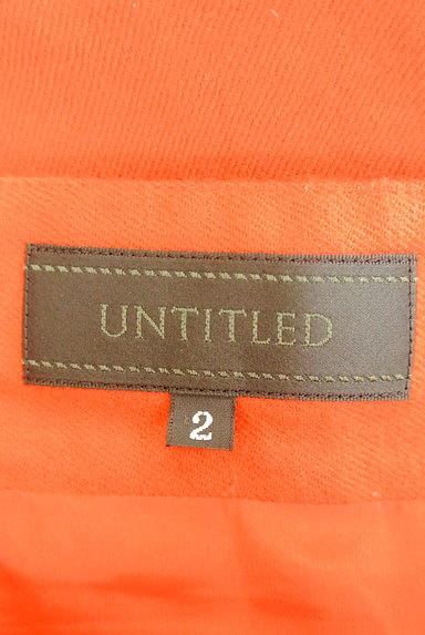 UNTITLED(アンタイトル)の古着「タックフレアミニスカート(ミニスカート)」大画像6へ