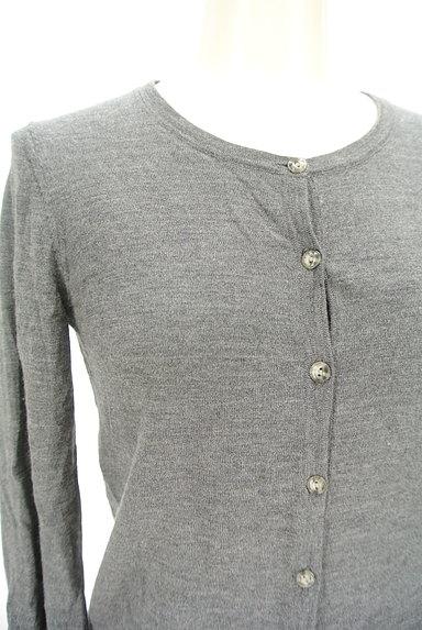 LAUTREAMONT(ロートレアモン)の古着「ツートンカーディガン(カーディガン・ボレロ)」大画像4へ