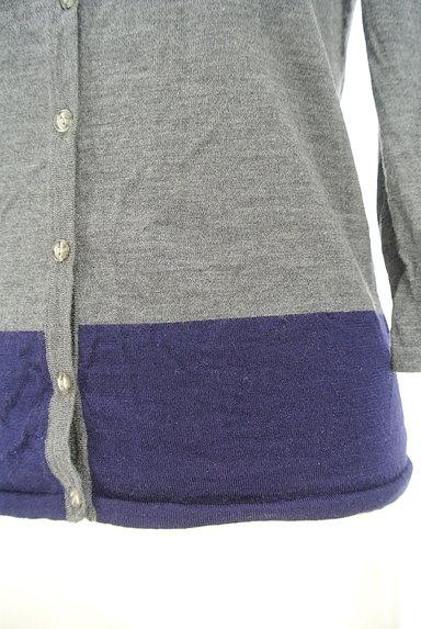 LAUTREAMONT(ロートレアモン)の古着「ツートンカーディガン(カーディガン・ボレロ)」大画像5へ