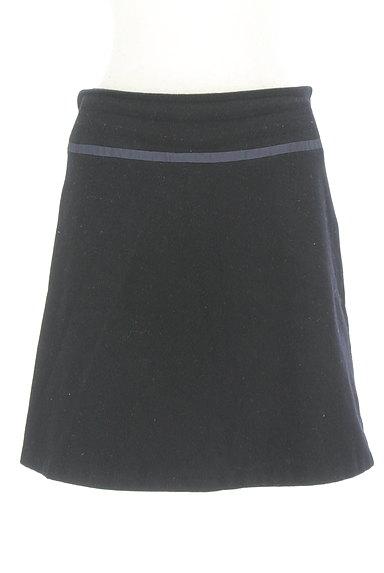 INDIVI(インディヴィ)の古着「ウエストラインミニスカート(スカート)」大画像1へ