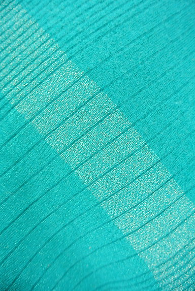 INDIVI(インディヴィ)の古着「アシンメトリー七分袖ニット(ニット)」大画像5へ