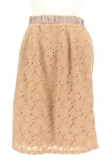 YECCA VECCA(イェッカヴェッカ)の古着「花柄総レースタイトスカート(スカート)」大画像1へ