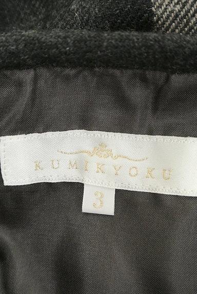 KUMIKYOKU(組曲)の古着「チェック×無地サイドリボンスカート(スカート)」大画像6へ