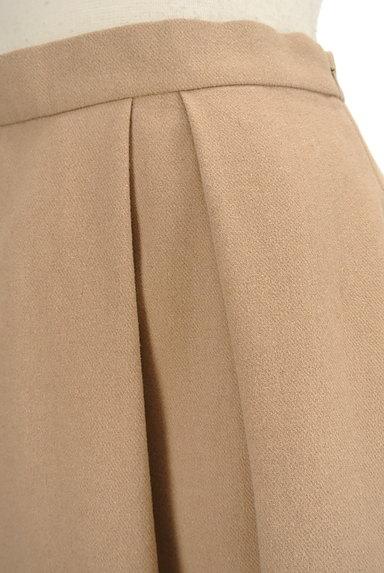 OPAQUE.CLIP(オペークドットクリップ)の古着「膝丈タックフレアスカート(スカート)」大画像4へ