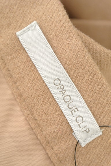 OPAQUE.CLIP(オペークドットクリップ)の古着「膝丈タックフレアスカート(スカート)」大画像6へ