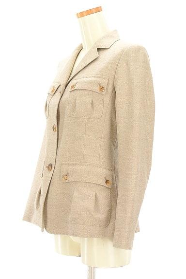 L'EQUIPE YOSHIE INABA(レキップヨシエイナバ)の古着「襟付き裾フレアジャケット(ジャケット)」大画像3へ