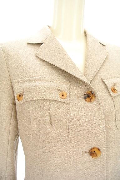 L'EQUIPE YOSHIE INABA(レキップヨシエイナバ)の古着「襟付き裾フレアジャケット(ジャケット)」大画像4へ