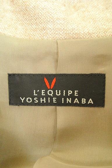 L'EQUIPE YOSHIE INABA(レキップヨシエイナバ)の古着「襟付き裾フレアジャケット(ジャケット)」大画像6へ