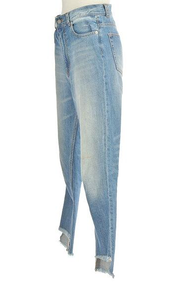 DRWCYS(ドロシーズ)の古着「裾フリンジストレートデニム(デニムパンツ)」大画像3へ