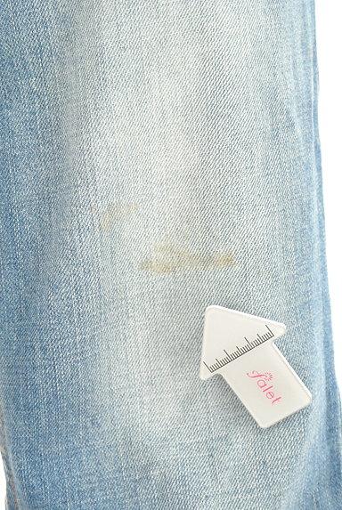 DRWCYS(ドロシーズ)の古着「裾フリンジストレートデニム(デニムパンツ)」大画像5へ