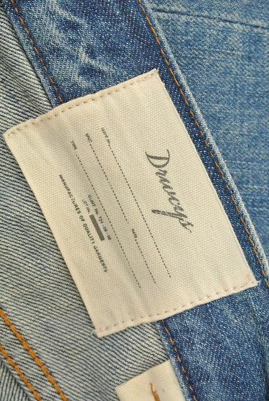 DRWCYS(ドロシーズ)の古着「裾フリンジストレートデニム(デニムパンツ)」大画像6へ