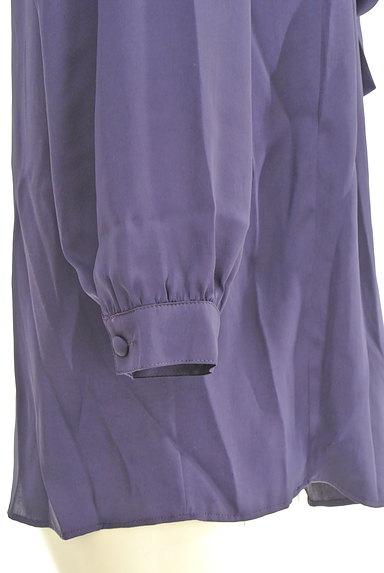 la.f...(ラエフ)の古着「フロントリボン七分袖シフォンブラウス(カットソー・プルオーバー)」大画像5へ