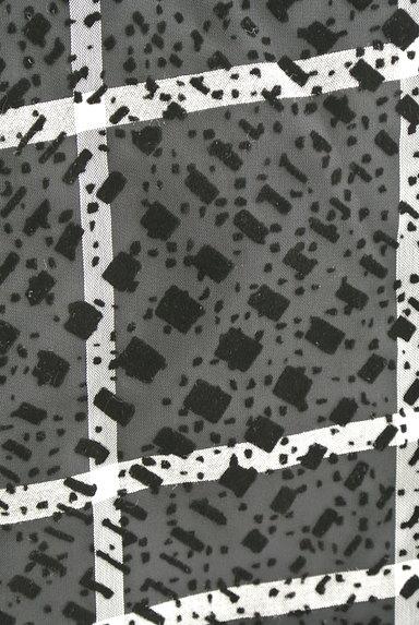 LAUTREAMONT(ロートレアモン)の古着「フロッキープリントシフォンブラウス(カットソー・プルオーバー)」大画像4へ