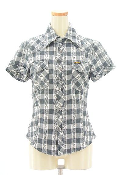 DIESEL(ディーゼル)の古着「美シルエットチェック柄シャツ(カジュアルシャツ)」大画像1へ