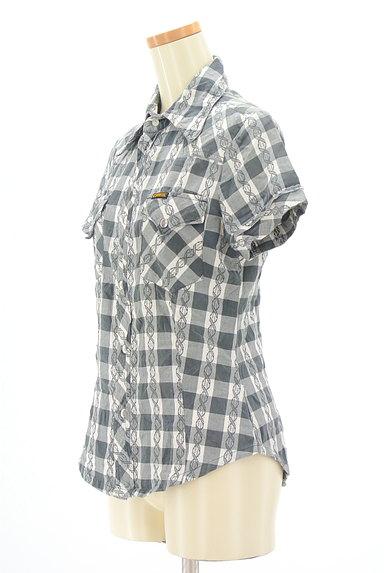 DIESEL(ディーゼル)の古着「美シルエットチェック柄シャツ(カジュアルシャツ)」大画像3へ