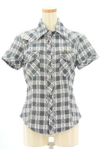 DIESEL(ディーゼル)の古着「美シルエットチェック柄シャツ(カジュアルシャツ)」大画像4へ