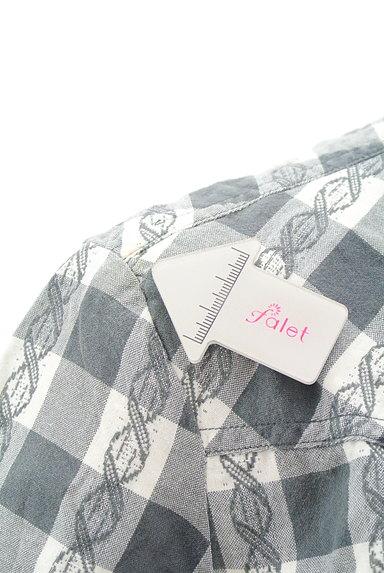 DIESEL(ディーゼル)の古着「美シルエットチェック柄シャツ(カジュアルシャツ)」大画像5へ