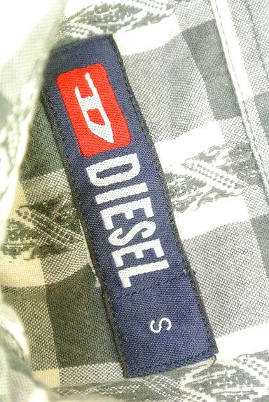DIESEL(ディーゼル)の古着「美シルエットチェック柄シャツ(カジュアルシャツ)」大画像6へ