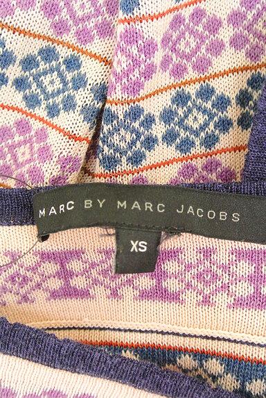 Marc by Marc Jacobs(マークバイマークジェイコブス)の古着「総柄フレアニット(ニット)」大画像6へ