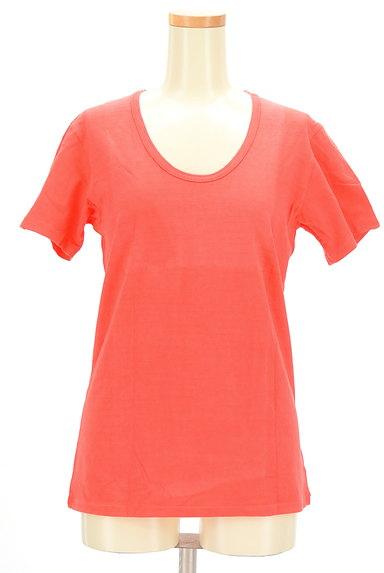 Hollywood Ranch Market(ハリウッドランチマーケット)の古着「シンプルカラーTシャツ(Tシャツ)」大画像1へ