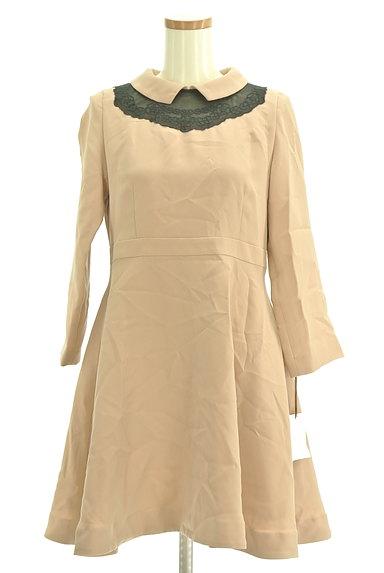 Bon mercerie(ボンメルスリー)の古着「襟付きウエスト切替ワンピース(ワンピース・チュニック)」大画像1へ