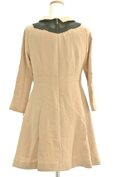Bon mercerie(ボンメルスリー)の古着「襟付きウエスト切替ワンピース(ワンピース・チュニック)」大画像2へ