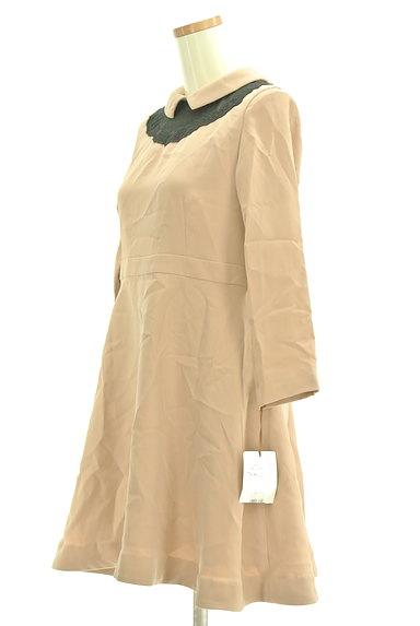 Bon mercerie(ボンメルスリー)の古着「襟付きウエスト切替ワンピース(ワンピース・チュニック)」大画像3へ