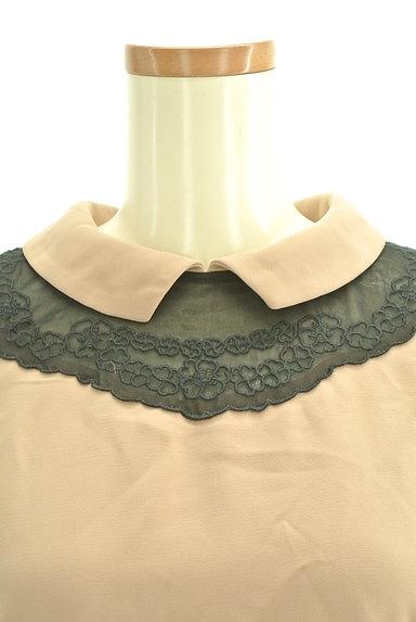 Bon mercerie(ボンメルスリー)の古着「襟付きウエスト切替ワンピース(ワンピース・チュニック)」大画像4へ