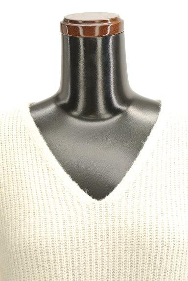 OPAQUE.CLIP(オペークドットクリップ)の古着「Vネックリブニット(ニット)」大画像5へ
