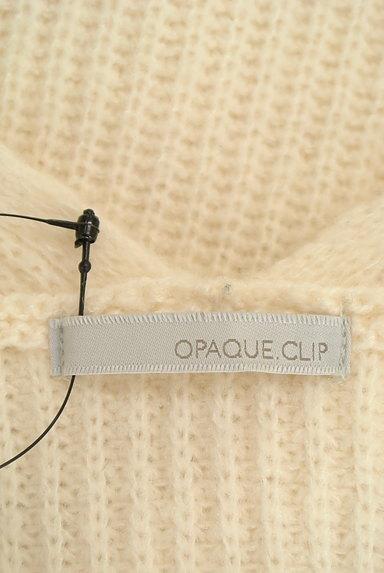 OPAQUE.CLIP(オペークドットクリップ)の古着「Vネックリブニット(ニット)」大画像6へ