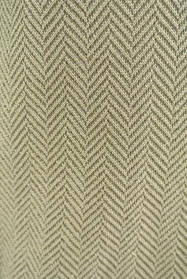 NATURAL BEAUTY(ナチュラルビューティ)の古着「ヘリンボーン柄半袖カーディガン(カーディガン・ボレロ)」大画像4へ