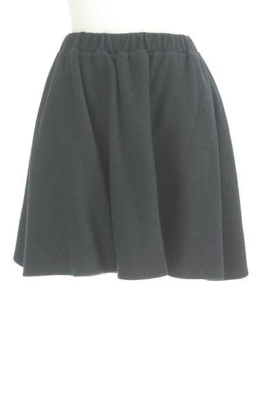 Jewel Changes(ジュエルチェンジズ)の古着「ウールフレアミニスカート(ミニスカート)」大画像1へ