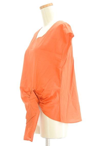 LE SOUK(ルスーク)の古着「裾リボンフレンチブラウス(カットソー・プルオーバー)」大画像3へ