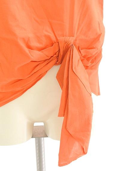 LE SOUK(ルスーク)の古着「裾リボンフレンチブラウス(カットソー・プルオーバー)」大画像4へ