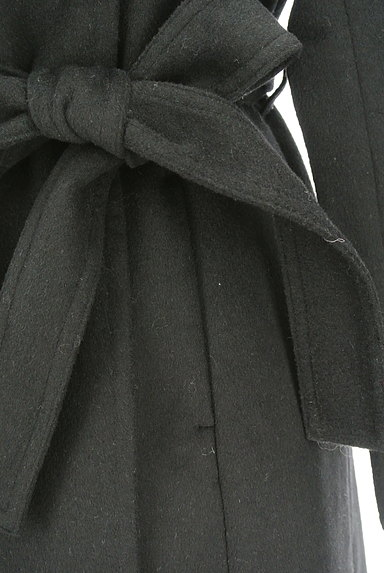 ROYAL PARTY(ロイヤルパーティ)の古着「ノーカラー比翼ロングコート(コート)」大画像5へ