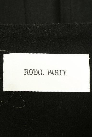 ROYAL PARTY(ロイヤルパーティ)の古着「ノーカラー比翼ロングコート(コート)」大画像6へ