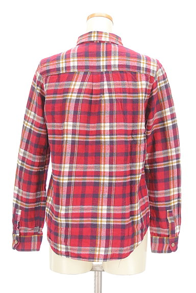 CUBE SUGAR(キューブシュガー)の古着「チェック柄フランネルシャツ(カジュアルシャツ)」大画像2へ