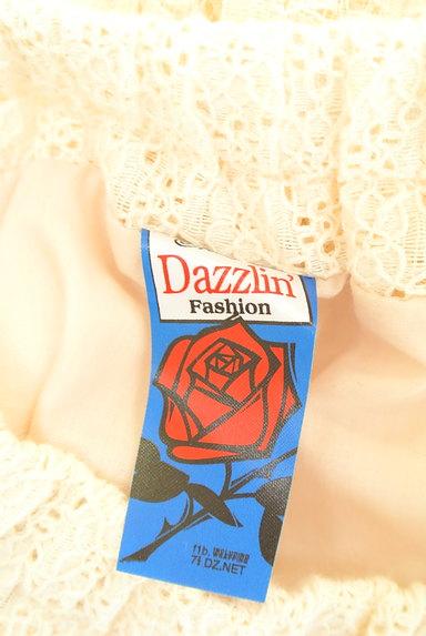 dazzlin(ダズリン)の古着「ミックスレースミニスカート(ミニスカート)」大画像6へ