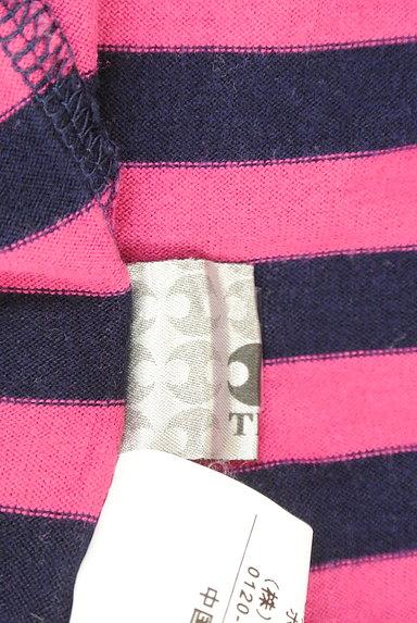 TK(ティーケー)の古着「カラーボーダー柄7分袖カットソー(Tシャツ)」大画像6へ