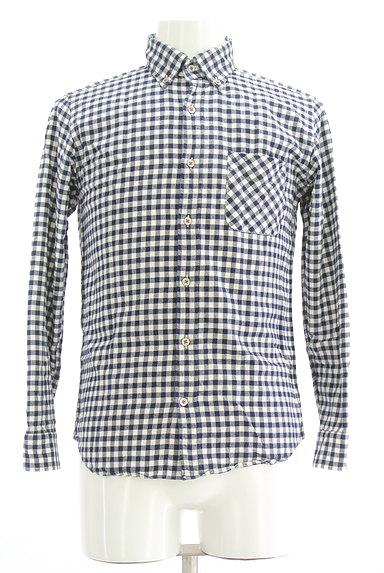 TK(ティーケー)の古着「チェック柄カジュアルシャツ(カジュアルシャツ)」大画像1へ
