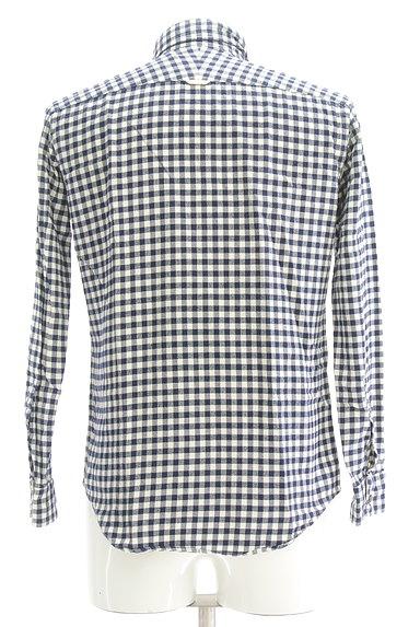 TK(ティーケー)の古着「チェック柄カジュアルシャツ(カジュアルシャツ)」大画像2へ