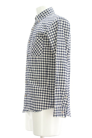 TK(ティーケー)の古着「チェック柄カジュアルシャツ(カジュアルシャツ)」大画像3へ