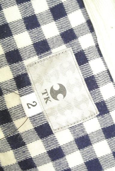 TK(ティーケー)の古着「チェック柄カジュアルシャツ(カジュアルシャツ)」大画像6へ