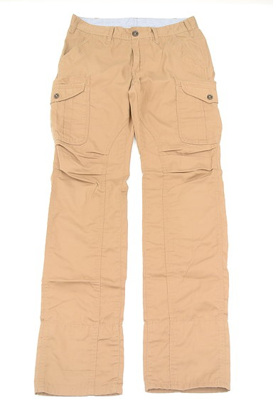 TK(ティーケー)の古着「裾ボーダー刺繍チノパン(パンツ)」大画像1へ