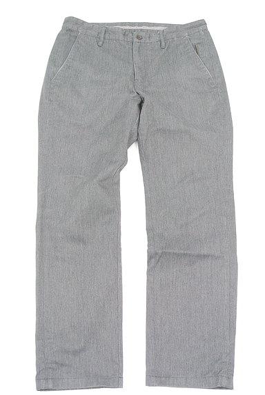 TK(ティーケー)の古着「ポケットレザーストレートパンツ(デニムパンツ)」大画像1へ