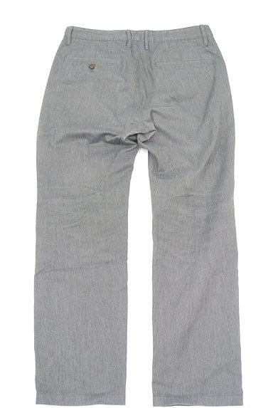 TK(ティーケー)の古着「ポケットレザーストレートパンツ(デニムパンツ)」大画像2へ