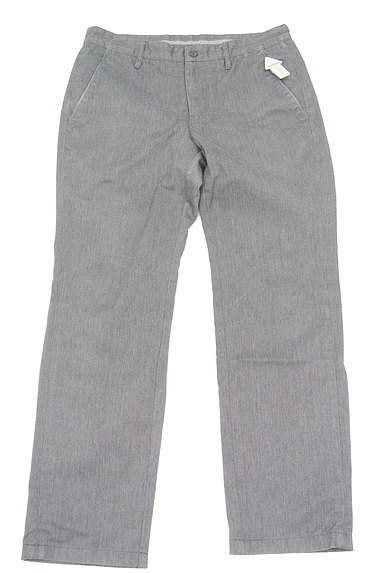 TK(ティーケー)の古着「ポケットレザーストレートパンツ(デニムパンツ)」大画像3へ