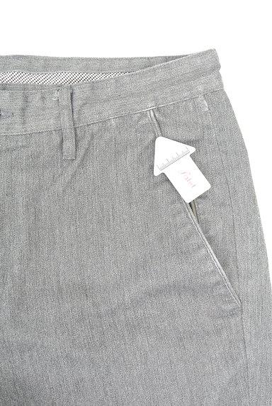 TK(ティーケー)の古着「ポケットレザーストレートパンツ(デニムパンツ)」大画像4へ