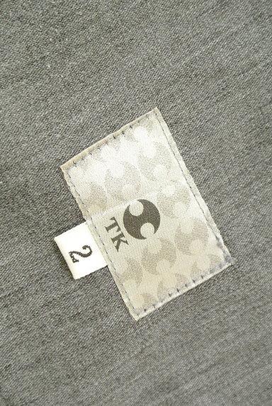 TK(ティーケー)の古着「ポケットレザーストレートパンツ(デニムパンツ)」大画像6へ